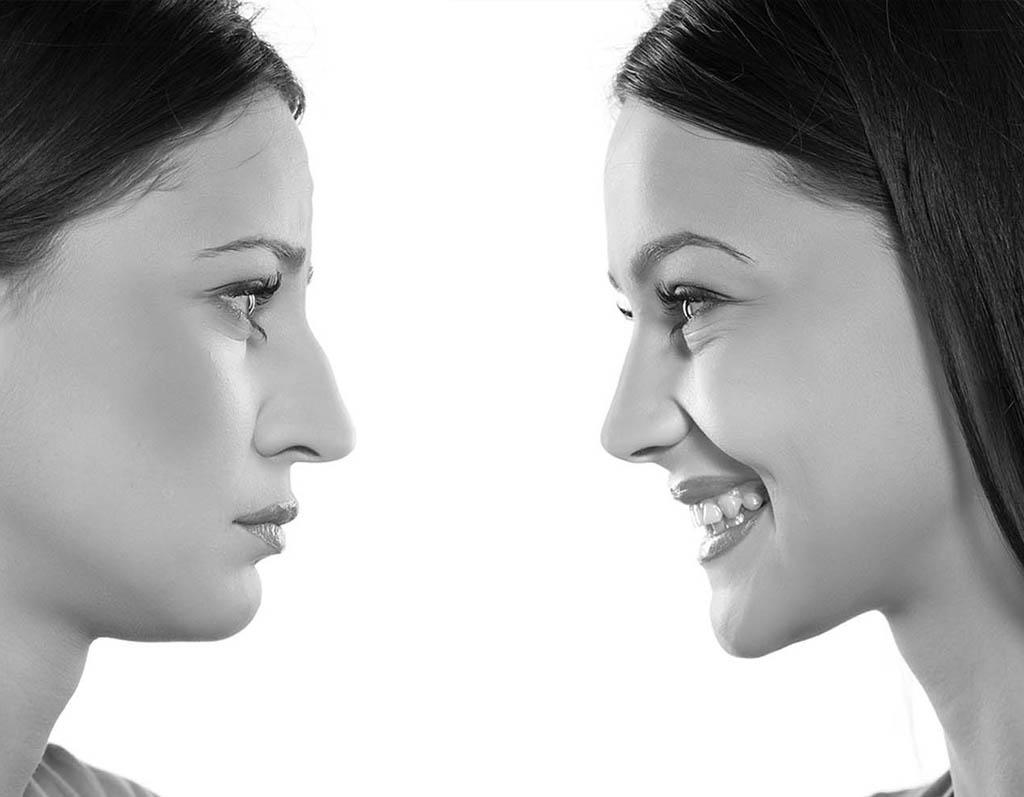 beauty concept skin aging. anti-aging procedures, rejuvenation,